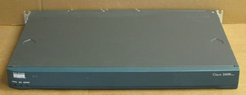 Cisco 2651XM Ethernet Router 10/100MB 32Mb 2600 Series 1U Wired 240V 1x WIC-2T